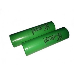 Batería Samsung INR18650-25R 2500mAh - 20A